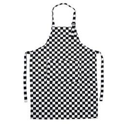 Restaurant kellner uniformen online-Einstellbare Frauen Männer Küchenschürzen Restaurant Uniformen Schürzen Restaurant Backen Kochen Lätzchen für Chefkellner Küchenbedarf