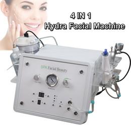professionelle mikrostrommaschinen Rabatt Professionelle Vakuum Hydra Gesichtsmaschine Diamant Mikrodermabrasion Maschine Sauerstoff Gesicht Schälmaschine Microcurrent Bio-Hubgeräte