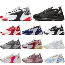 2020 calcetines azules baratos Nike Con Calcetines 2019 Barato Negro Blanco Zoom 2K M2K Hombres Mujeres Zapatos para correr Tekno Race Rojo Royal Azul Oscuro Zapatillas de deporte para hombre Zapatillas de calcetines azules baratos baratos