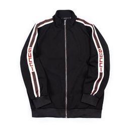 2019 giacca bomber verde khaki Autunno NUOVA giacca uomo moda uomo Cappotti giacca streetwear Tuta sportiva nera taglia m-XXL