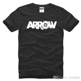 2019 grünes pfeilhemd New GREEN ARROW Schwarz Kurzarm Herren T-shirt Größe S-3XL günstig grünes pfeilhemd