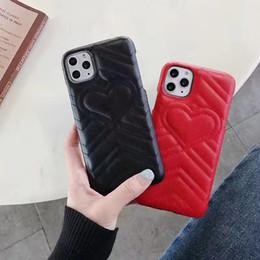 couverture huawei honneur 4x Promotion Luxe Emboss Love Heart Téléphone pour Samsung Note 10 9 8 Galaxy S10 S9 S8 en cuir PU pour iPhone 11 Pro X X Max XR 8 7 6 Plus