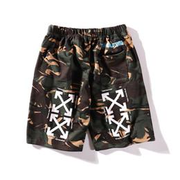 Cartão de maré Camuflagem Seta Primavera Verão Lazer Marcas Completas Calças Dos Homens E Mulheres Amantes Hip-hop Shorts de