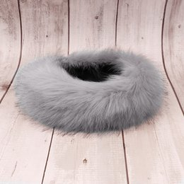 2019 accessori russi Winter Fox Faux Fur Headband per Lady Women Paraorecchie Larga Hairbands Warmer Ear Turband Russo Cossack Style Hat Accessori per capelli accessori russi economici