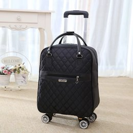 a5da961d8 Discount woman suitcase travel bag - Women Travel Luggage Suitcase Bag,girls  Cabin Waterproof Oxford
