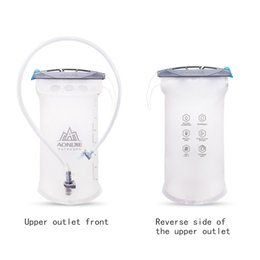 Serbatoio della vescica online-Sacca idratante da 1,5 litri con guida idratazione Zaino da campeggio Escursionismo Ciclismo Borsa per bere Borsa pieghevole Borsa morbida per esterno