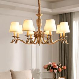 Tons de lustre vintage on-line-Vintage modern led lustres com lâmpada lustre lustre para sala de estar quarto sala de jantar decoretive luzes led