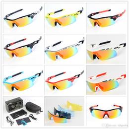 2019 occhiali da sole a balestra Nuovo marchio Radar EV Pitch Occhiali da sole polarizzati rivestimento occhiali da sole per donna uomo occhiali da sole sportivi occhiali da equitazione Occhiali da ciclismo uv400