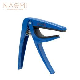 NAOMI guitare Capo Aroma AC-01 ressort en acier allié de zinc de haute qualité guitare Capo pièces de guitare accessoires nouvelle couleur bleue nouvelle ? partir de fabricateur