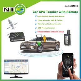 2019 camiones gps NTG04 ruta de seguimiento histórico de alta calidad rastreador gps envío gratuito envío remoto de camiones y cierre de ventanas por aplicación y auto sms rebajas camiones gps