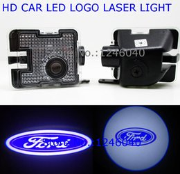 Luz led ford kuga on-line-LED sob o lado do espelho Logo Bem-vindo Luz Fantasma Sombra da lâmpada do projetor para a Ford Kuga S-MAX C-MAX 2003-2010 FOCUS Fuga Mondeo