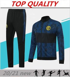2019 valencia casa cf 2019 2020 de futebol INTER treino jaquetas kits 19/20 survêtement ALEXIS Lukaku LAUTARO fato de treino treino de futebol conjunto de jaqueta veste