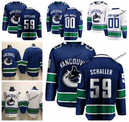 47f6555584c 2019 Tim Schaller Vancouver Canucks Hockey Jerseys Mens Cheap Custom Name  Home Blue #59 Tim Schaller Stitched Hockey Shirt S-XXXL
