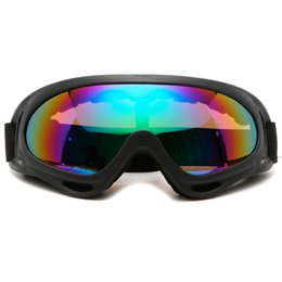 clear ski goggles Promo Codes - Winter snowman men and women ski mirror sports snowboard goggles double lens anti-fog ski glasses off-road motorcycle mask glasses with box