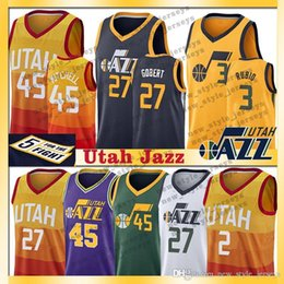 e08d4bae3 45 Donovan Utah Mitchell jerseys Rubio 3 Ricky Ingles Basketball Jerseys 2  Joe Allen 24 Grayson Stockton 12 John Malone 32 Karl on sale