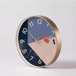 números de adesivo de parede Desconto Padrões Original Xiaomi youpin Yuihome Decor Relógio de parede Arte geométrica Início Mute Relógio 3010073Z3