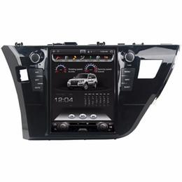 "tela de toque audi Desconto Tela Vertical 9.7 ""Quad core Android 7.1 Carro Rádio Estéreo GPS Carro DVD para Toyota Corolla 2014 2015 2016 Bluetooth WIFI USB DVR"
