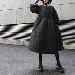 Argentina mujer otoño invierno gabardina nuevo estilo coreano falda inferior outwear abrigo largo negro rompevientos negro abrigo de cintura alta cheap coat skirt korean Suministro