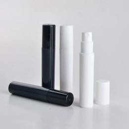 vaporisateurs en plastique noir Promotion 100pcs / lot spray parfum bouteille petite promotion échantillon noir parfum atomiseur 2ml 3ml 4ml 5ml mini bouteille en plastique
