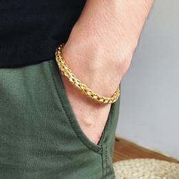 613b1cee3671 Mcllroy Bangle Men   Acero inoxidable   metal   abierto   lujo   amor   oro    plata   pulseras Brazaletes Joyería de brazalete de titanio Viking  Valentine ...