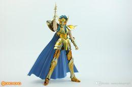 Figure seiya online-Metal Club MC Saint Seiya Ex Myth Cloth Metallo Oro Aquarius Camus Action Figure Model Kit Cavaleiros do Zodiaco