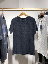 Camisas do rei do algodão on-line-2019SS anjo Novo algodão europeu e americano dos homens da coroa real EUA TAMANHO T-shirt, dos homens de manga curta rei T-shirt NAVIO GRÁTIS 698