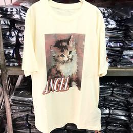 Héron Preston T Shirt Hommes Femmes Streetwear Chat T-shirt Sur La Taille Harajuku Hip Hop Coton De Mode Héron Preston T-shirt ? partir de fabricateur