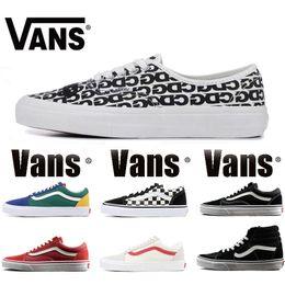 2e144498cf4c38 New Original Vans alte Skool sk8 hallo Mens Womens Canvas Sneakers schwarz  weiß rot YACHT CLUB MARSHMALLOW Mode Skate casual Schuhe Größe 36-44  günstig new ...