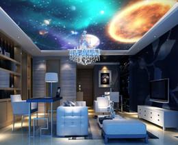 soffitti stellati Sconti Foto personalizzata di qualsiasi dimensione soffitti personalizzati soffitti a stella 3d soffitti murali carta da parati