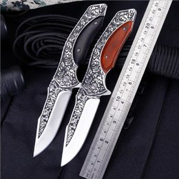 2019 антикварные ножи Античный открытый карманный нож кемпинг тактика складные ножи 440C алюминиевого сплава декоративные ретро подарок ножи тела дешево антикварные ножи