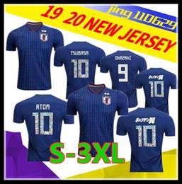 2019 peúgas atléticas da tripulação por atacado Tamanho S-3XL Copa do mundo de futebol J ATOM 18 19 camisas de futebol em casa camisas