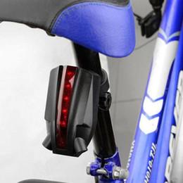 bicicletta di diametro Sconti Indicatore LED di ricarica USB Indicatore della bicicletta laser Vita quotidiana Coda impermeabile Circa 20-36 mm Diametro Tubi Supporto luce