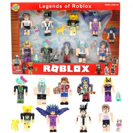 block year Promo Codes - Roblox Characters Figure Toys PVC Building Blocks Game Figma Oyuncak Action Figuras Toys Roblox Boys Toys for Children Party