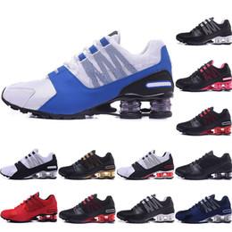 2019 or chaud shox shoes Hot Mens chaussures NZ bule rouge blanc noir rose or célèbre R4 809 livrer OZ Athletic Sneakers Sport Chaussures de course taille 36-46 promotion or chaud