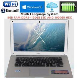 2gb ram 8gb bluetooth hdmi Sconti 8 GB di RAM 1 TB HDD e 120 GB SSD Quad Core Computer notebook 14,1