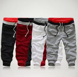 плюс размер брюки танца хип-хопа Скидка Мода новые танцевальные брюки новые мужские случайные горячие хип-хоп брюки Мужские твердые тренировочные брюки плюс размер для уличной несколько
