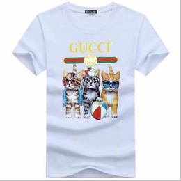Canada Louis Vuitton GUCCI Nouveau t-shirt en coton pour hommes et femmes à la mode T-shirt imprimé extérieur décontracté à manches courtes Offre