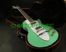 2019 guitare électrique oem st Chmelodymusic Lzeal couleur verte stave incrustation lp guitare électrique guitare personnalisée production disponible SSS micros guitare
