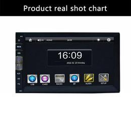 """Unidade de navegação na tela de toque on-line-2 Din 7 """"LQFP80 430 MHz Digital Touch Screen Mp5 Player Sem Navegação GPS Estéreo WIFI Unidade Cabeça USB SD FM AM carro dvr"""