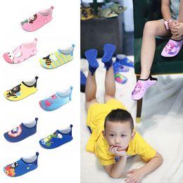 оптовые платья для девочек Скидка Детская обувь для дайвинга Детская нескользящая обувь для водных видов спорта босиком Обувь для детей Плавание Серфинг Йога Упражнения