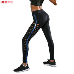 82e119f815 UMLIFE 2019 Yoga Pants for Women Yoga Leggings Fitness Running Tights for Women  Sports Pants Workout Gym athletic Leggins