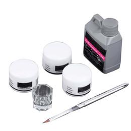 Canada Vente chaude Portable Nail Art Tool Kit Set Poudre De Cristal Acrylique Liquide Plat Haute Qualité Nail Art Outils cheap acrylic powder liquid for nails Offre