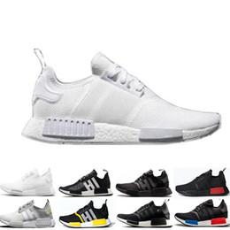 5f974e46b41d9 Wholesale NMD R1 Running Shoes OG Japan Triple black White Solar Red Oreo  Men Women Designer Trainer Sport Sneaker Size 36-45 Free Shipping discount  japan ...