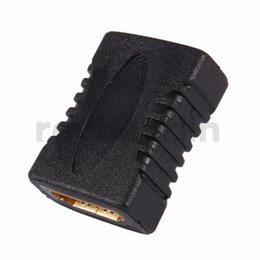 Enchufe del acoplador online-HDMI a HDMI V1.4 Adaptador de extensor de acoplador F / F hembra a hembra Conector para HDTV HDCP 1080P Conector de extensión de cable HDMI