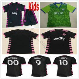 cc0b7d4f5ad 2019 2020 MLS Seattle Sounders FC Soccer Jerseys DEMPSEY MORRIS LODEIRO  ALONSO ROLDAN Custom 19 20 Away Home Adult Kids Youth Football Shirt