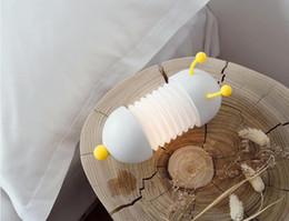 Caterpillar kreative Modellierung Nachtlicht 3D können kreative Produkte neue exotische usb Beleuchtung angepasst werden Lichtsteuerung von Fabrikanten