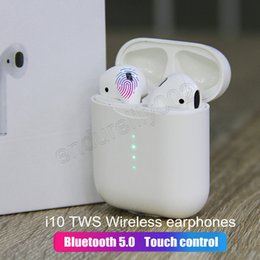 e6ad72ddca9 Original i10 air new pods TWS Wireless Bluetooth 5.0 super bass earbud for  huawei freebuds 2 pro meizu pop xiaomi airdot ear