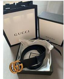 cinturones xl para hebillas negro Rebajas Cinturón de diseño 2019 Cinturones de moda para hombres y mujeres Cinturones de moda de cuero genuino Cinturones de cintura de oro Hebilla negra de plata CON CAJA