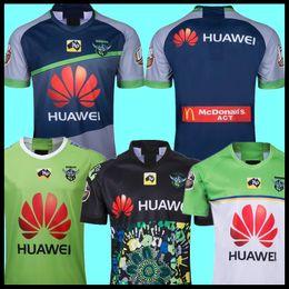 2019 rugby de auckland 2019 CANBERRA Auckland hogar lejos de Rugby Jersey CANBERRA indígena 18 19 20 NRL Rugby League Jerseys camisa de Australia rugby de auckland baratos