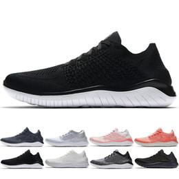 Zapatillas de correr ligeras online-2018 Free RN 5.0 Hombres Mujeres Zapatos Corrientes Transpirable Ligero de Calidad Superior Zapatos de Diseñador de Moda Zapatillas Deportivas Zapatillas 5-11